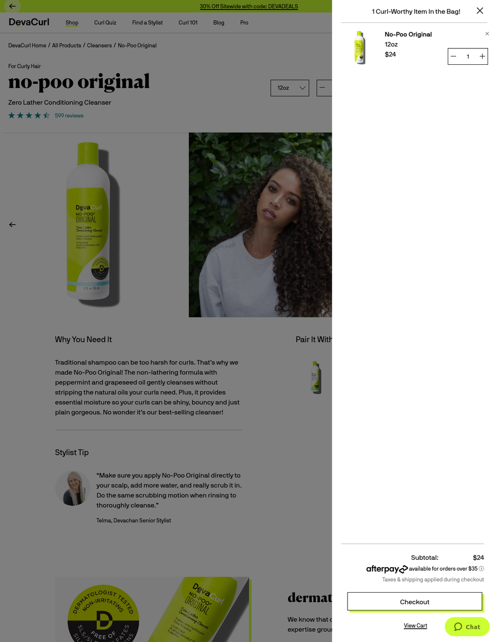 Screenshot_2021-05-27 No-Poo Shampoo Original Zero Lather Conditioning Cleanser DevaCurl.png