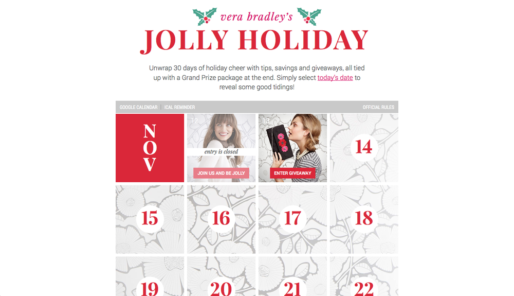 Vera Jolly Holiday 01 - Home page early