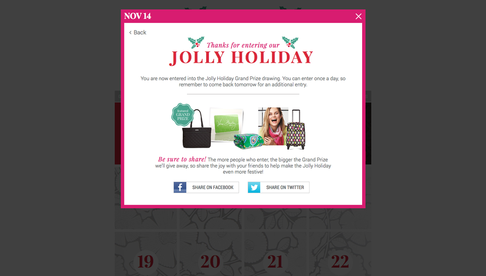 Vera Jolly Holiday 08 - thanks for entering